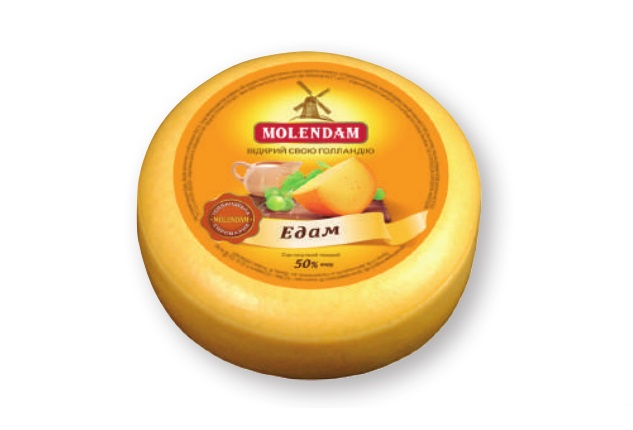 Hard Cheese Edam 50% TM Molendam