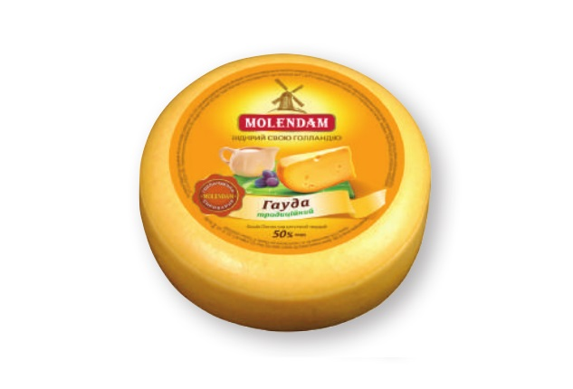 Hard Cheese Gouda traditional 50% TM Molendam
