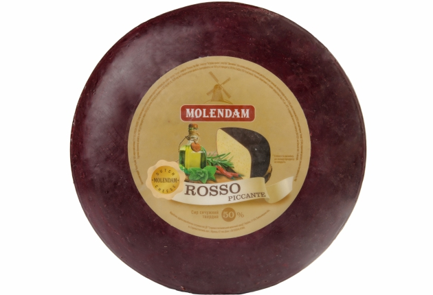 Hard Cheese Rosso Piccante 50% TM Molendam