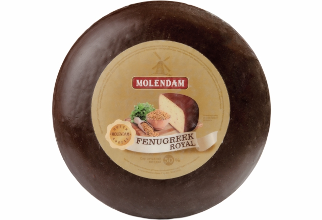Hard Cheese Fenugreek Royal 50% TM Molendam