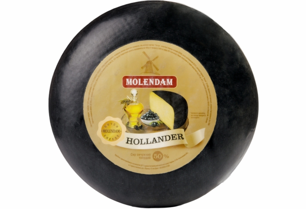 Сир твердий Hollander 50% TM Molendam