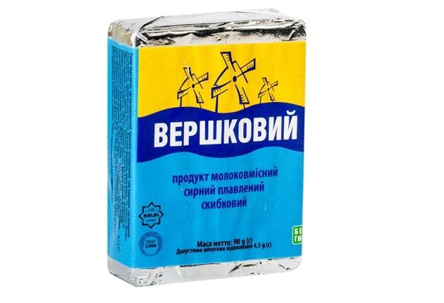 Продукт з комбінованим складом сировини скибковий Вершковий брикет