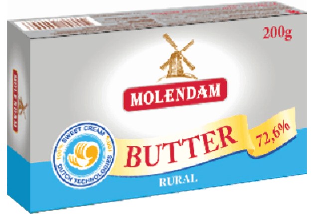 Butter TM Molendam 72,6%