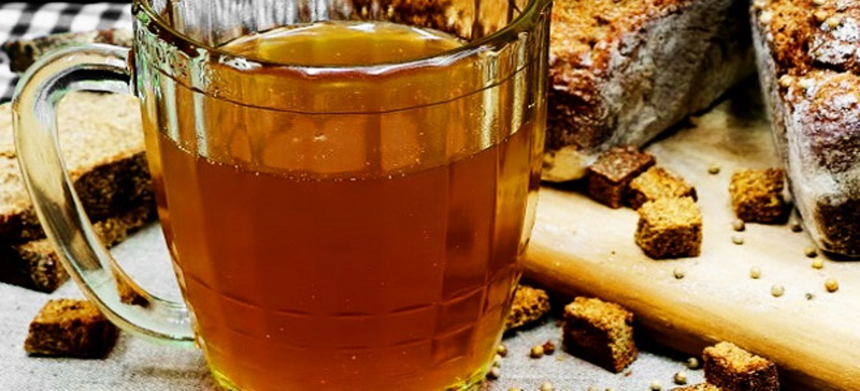 The benefit of kvass ... or is it harm