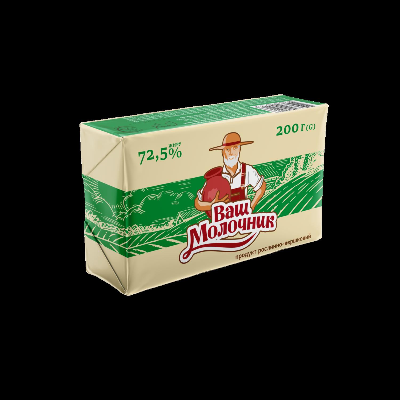 Продукт рослинно-вершковий Ваш Молочник 72,5%